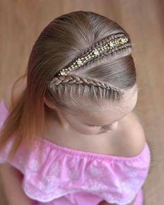 Cute Girls Hairstyles, Braided Hairstyles, Girl Hair Dos, Hair Upstyles, Toddler Hair, Braids For Long Hair, Barbie, Hair And Nails, Hair Inspiration