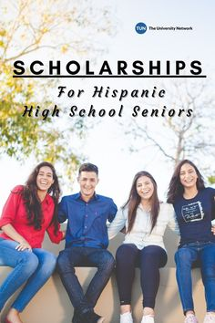 Here are eight scholarship opportunities for Hispanic and Latinx high school seniors!