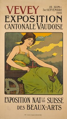 Exposition cantonale vaudoise, Vevey Ph. RECORDON (1901)