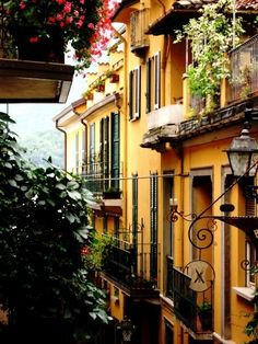 Items similar to Italy Photography - Bellagio, Italy Photograph - italian home decor - terracotta balcony - lantern - summer in italy - Lake Como on Etsy Oh The Places You'll Go, Places To Travel, Places To Visit, Travel Destinations, Comer See, Italian Home Decor, Lake Como, Nyc, Mellow Yellow