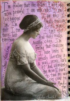 Reflection--from one of my art journals