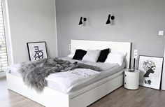 Scandinavian Design Bedroom Kartell Ikea Malm Scandinavian Design Bedroom Kartell Ikea Malm The post Scandinavian Design Bedroom Kartell Ikea Malm appeared first on Schlafzimmer ideen. Ikea Bedroom, Gray Bedroom, Modern Bedroom, Stylish Bedroom, Bedroom Furniture, Cama Malm Ikea, Scandinavian Bedroom Decor, Scandinavian Design, Hack Ikea