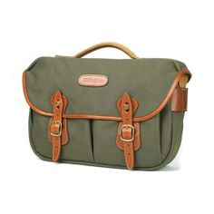 [Billingham] Hadley PRO Sage FibreNyte Tan Leather DSLR Camera Shoulder Bag