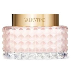 Women's Valentino 'Donna' Body Cream (360 RON) ❤ liked on Polyvore featuring beauty products, bath & body products, body moisturizers, makeup, beauty, perfume, valentino, cosmetics, filler and no color
