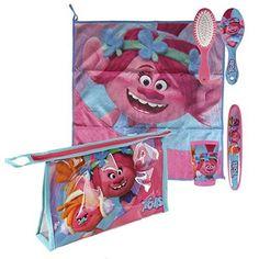 Oferta: 8.73€. Comprar Ofertas de Set bolso neceser comedor Trolls Poppy toalla,cepillo,cepillo dientes,vaso barato. ¡Mira las ofertas!