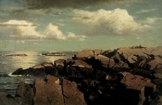 After a Shower -- Nahant, Massachusetts by William Stanley Haseltine circa 1864