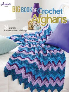 Adding a touch of comfort and style to a crafter's home decor, the patterns in this collection can be made from a variety of yarns and colors and by crocheters of all skill levels. With 26 designs, this book features full-color photographs and detailed instructions on stitching and incorporating motifs and patterns such as Granny Squares, Tunisian Lace, Pineapples, Shells, Ripples, and more. Beautiful, whimsical, and practical, these afghans make perfect gifts and home accents.