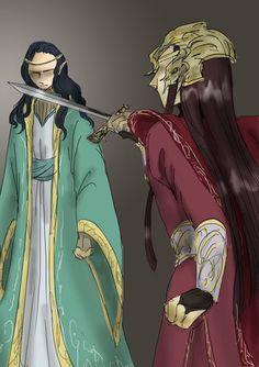 Fingolfin and Fëanor - The Price of Pride