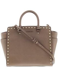 MICHAEL Michael Kors Selma Stud Large North South Tote | Piperlime