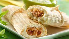 Tamales De Frijoles Con Chorizo