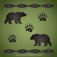 Bears Paw Print