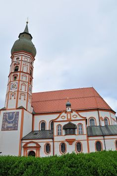 The Andechs Abbey in Germany