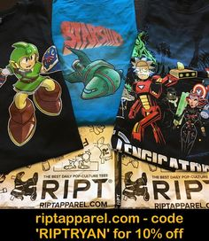 Fresh tees served up by none other than RIPT Apparel :: Checkout the latest awes