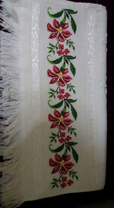 The most beautiful cross-stitch pattern - Knitting, Crochet Love Cross Stitch Letters, Cross Stitch Bookmarks, Cross Stitch Borders, Cross Stitch Samplers, Modern Cross Stitch Patterns, Cross Stitch Flowers, Cross Stitch Charts, Cross Stitch Designs, Cross Stitch Embroidery