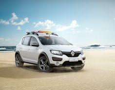 Renault Sandero Stepway Rip Curl on Behance