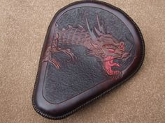 Custom Leather | Custom made leather motorcycle seats
