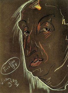 Portrait of Leon Reynel 1928 Stanislaw Ignacy Witkiewicz
