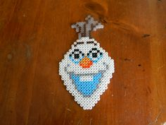 Olaf from Disney's Frozen perler beads