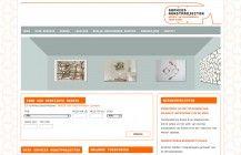 Sophies kunstprojecten website. Wordpress CMS