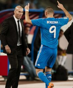 Real Madrid and 2 if France's greatest, Zidane and Benzema