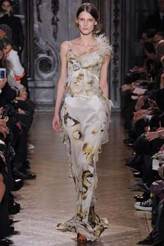 The Giles Fall 2012 Collection Showcased Singed Gowns #oscars