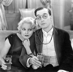 Thelma Todd & Buster Keaton
