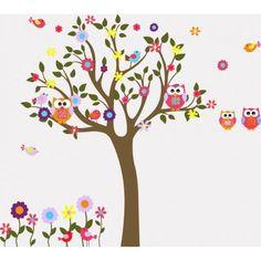 Happy owls εναλλακτικά χρώματα, παράσταση σε αυτοκόλλητα τοίχου.Μονότονο βαρετό ψυγείο? όχι πλέον! Οικονομική λύση υψηλής αισθητικής σε χιλιάδες σχέδια. Ματ αυτοκόλλητο ύφασμα,δεν γυαλίζει, αφαιρείται χωρίς ίχνος κόλλας