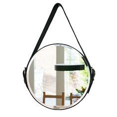 spiegel-edison-zwart-leer-usi-maison