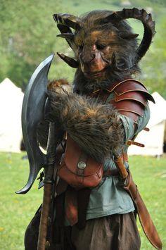 Beastman costume