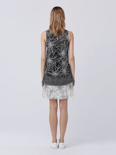 DVF Liza Tiered Shift Dress | Landing Pages by DVF