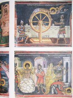 Teofan Cretanul – icoana Byzantine Art, Orthodox Icons, Sacred Art, Middle Ages, Vintage World Maps, Saints, Paintings, Paint, Painting Art