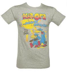 Men's Grey Kia-Ora 'I'll Be Your Dog' T-Shirt! Sooo many retro memories flooding back :)