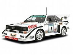 The Scalextric Audi Sport Quattro S1 is part of the Scalextric Rally And Touring Cars range.