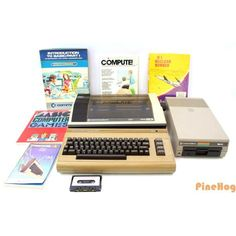 For Sale: Vintage Commodore 64 Computer System MPS-801 Printer And 1541 Games Manuals