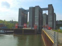 Schiffshebewerk in Scharnebeck ...