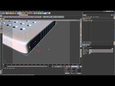 Sub-D Modeling in C4D - Lesson 12 - Array of Holes