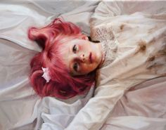 """crossconnectmag: """"Realistic Paintings by Guillermo Lorca Guillermo Lorca Garcia Huidobro born in Santiago in is a Chilean artist best known for his monumental works inspired by dreamlike. Potrait Painting, Portrait Art, Portraits, Hyper Realistic Paintings, Cool Paintings, Beautiful Paintings, Art Studies, Figure Painting, New Art"""