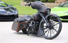 Harley Bagger, Harley Bikes, Harley Davidson Bikes, Custom Harleys, Custom Motorcycles, Custom Bikes, Baggers, Choppers, Street Glide Special