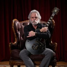 D'Angelico Guitars Releases Bob Weir Signature Model Grateful Dead Shows, John Perry Barlow, Phil Lesh And Friends, Mickey Hart, Jerry Garcia Band, Namm Show, Bob Weir, Dead And Company, Music