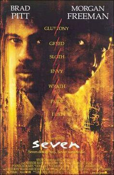 Resultados de la Búsqueda de El veterano teniente Somerset (Morgan Freeman), del departamento de homicidios, está a punto de jubilarse y ser reemplazado por el ambicioso e impulsivo detective David Mills (Brad Pitt). Ambos tendrán que colaborar en la resolución de una serie de asesinatos cometidos por un psicópata que toma como base la relación de los siete pecados capitales.