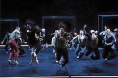 Babel (Words) 7.16 | Sidi Larbi Cherkaoui & Damien Jalet | Courd'Honneur Palais des Papes | Festival Avignon 2016 | (c) Christophe Raynaud de Lage