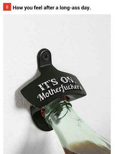 Hahaha bad ass bottle opener