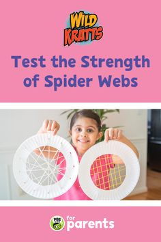 Spiders have the ability to create strong — and beautiful! — webs. Make two different spider webs with your child to explore the strength of materials and learn about spider silk as you play. #PBSKIDS #PBSKIDSforParents