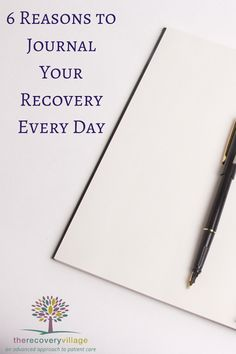 Keeping a journal as you navigate recovery is an excellent tool to help you stay clean and #sober.