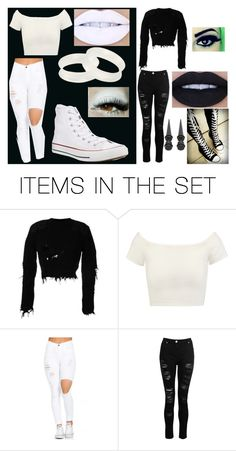 """Knives and Pens by BVB"" by your-emo-daughter ❤ liked on Polyvore featuring art"