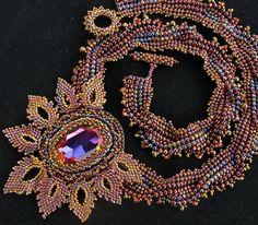 Monets Garden Necklace by Cielo Design, via Flickr