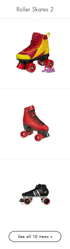 """Roller Skates 2"" by abbitsasort ❤ liked on Polyvore featuring shoes, lacy shoes and lace shoes"