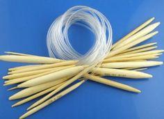 CKB Ltd 9cm Bamboo Circular CKB800004 Knitting Needles 15 Pairs 50cm (US Size 0 - 15) Single Pointed: Amazon.co.uk: Toys & Games