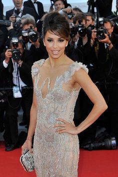 Flawless. Eva Longoria - MAJOR Marchesa Moment. Everyone else go home. Seriously. Cannes Film Festival 2012. Follow pins and tweets @GiselleUgarte
