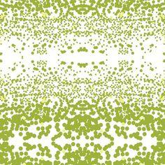 Stardust Fabric in Citron  Victoria Larson
